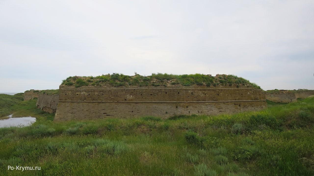 Турецкая крепость Арабат.