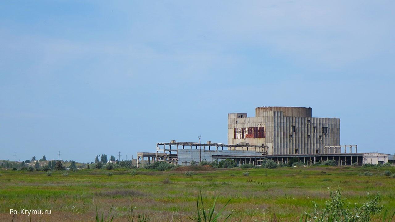 Крымская АЭС, пляжи Щелкино