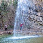 Водопад Козырек в Байдарской долине