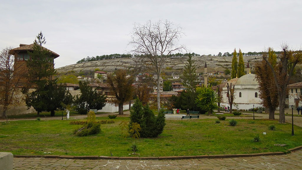 На фото Ханский дворец в Бахчисарае