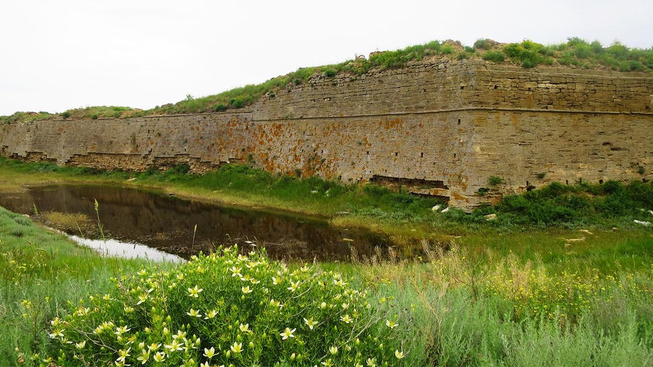 Крепость Арабат, Крым, достопримечательности.