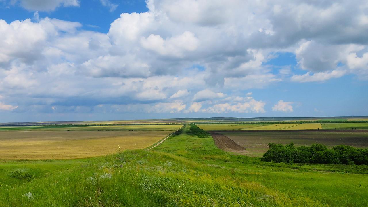 Что смотреть в Крыму - Киммерийский вал