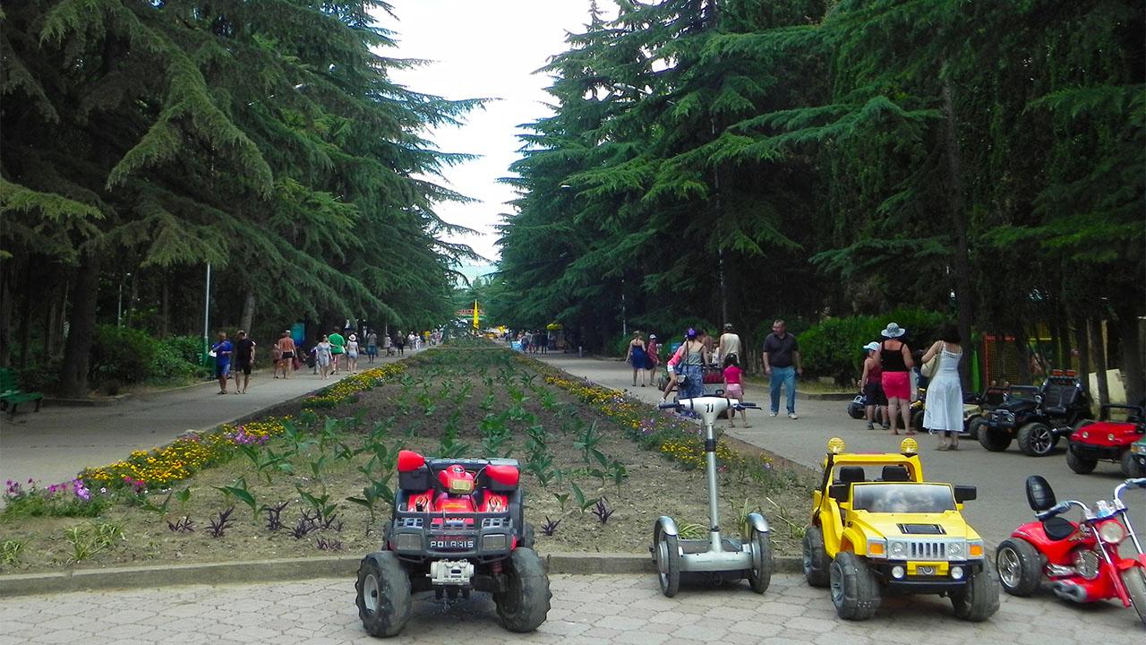 Парки и развлечения Алушты