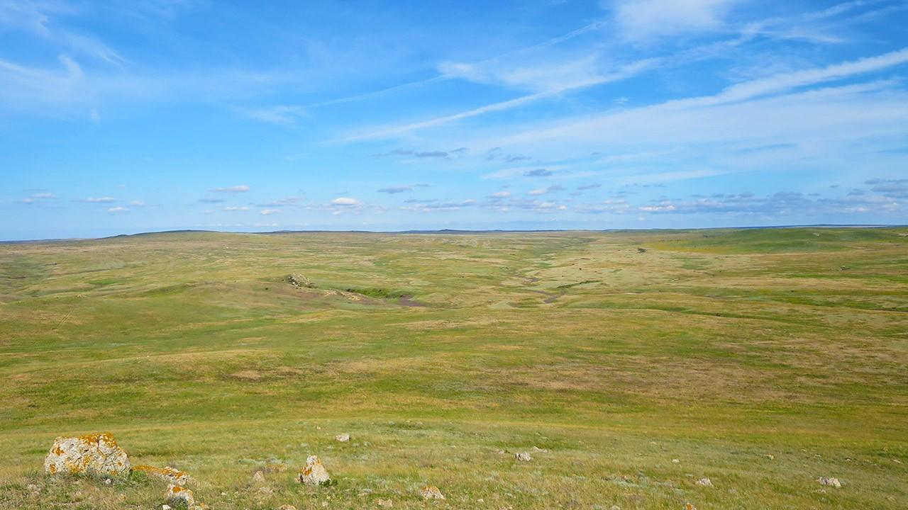 Караларская степь в Крыму