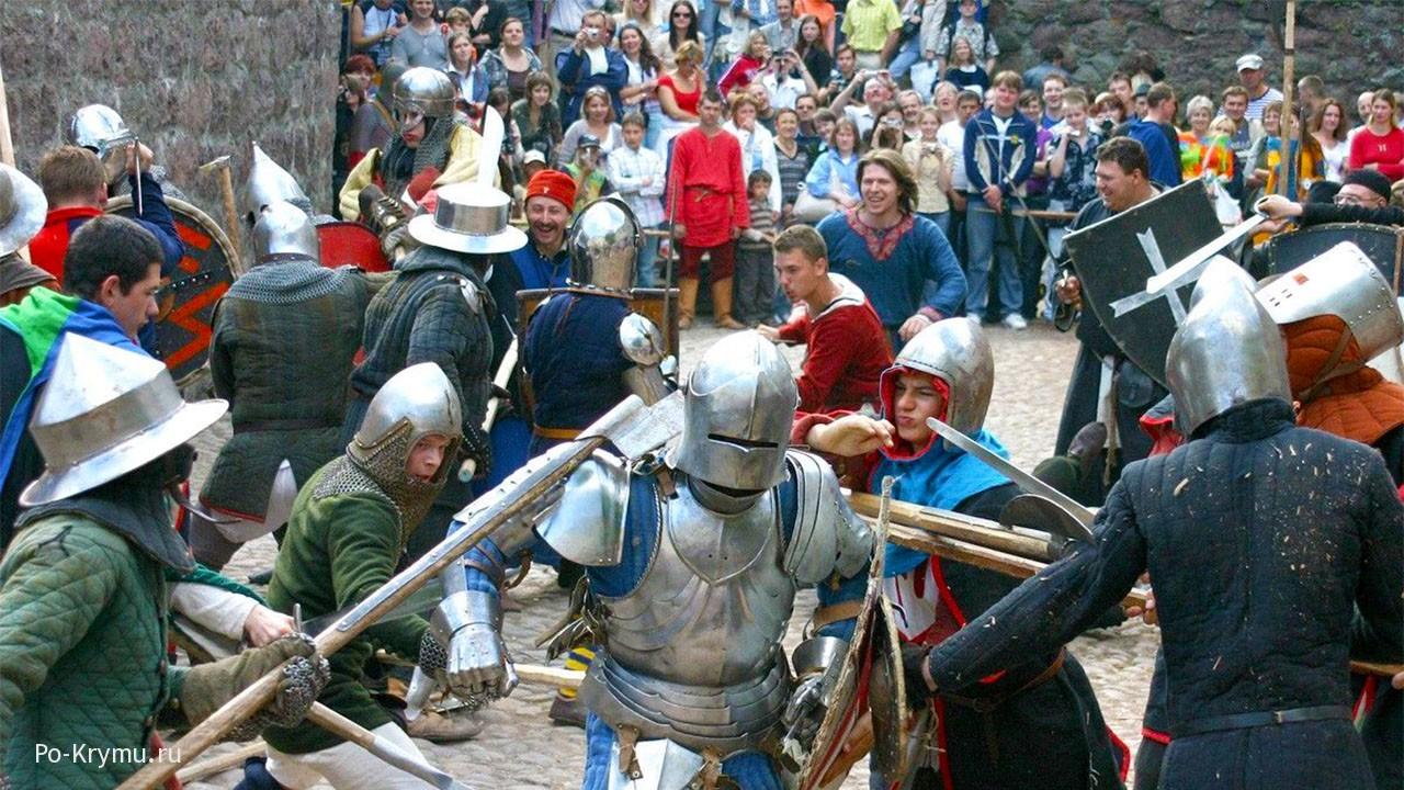 Рыцарские турниры в Судаке