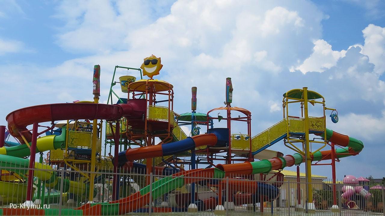 Керчь аквапарк для детей.