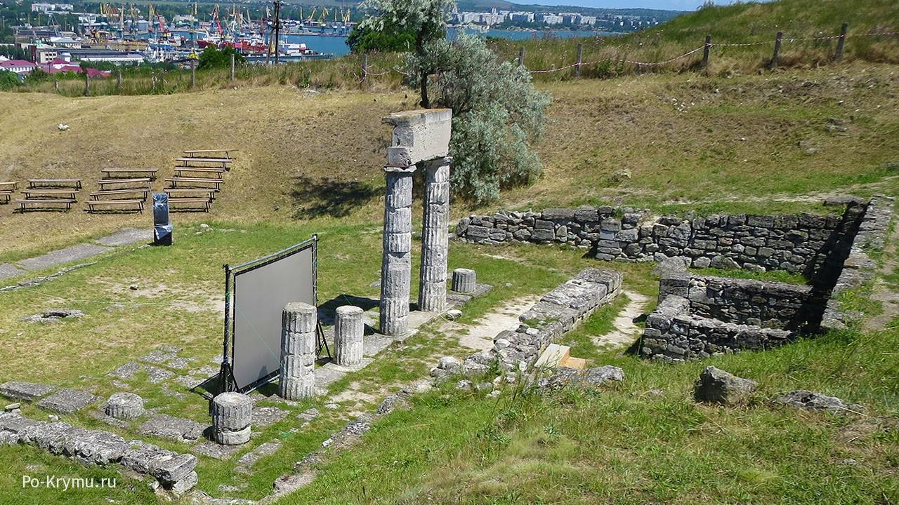 История Керчи кратко - Пантикапей на Митридате.