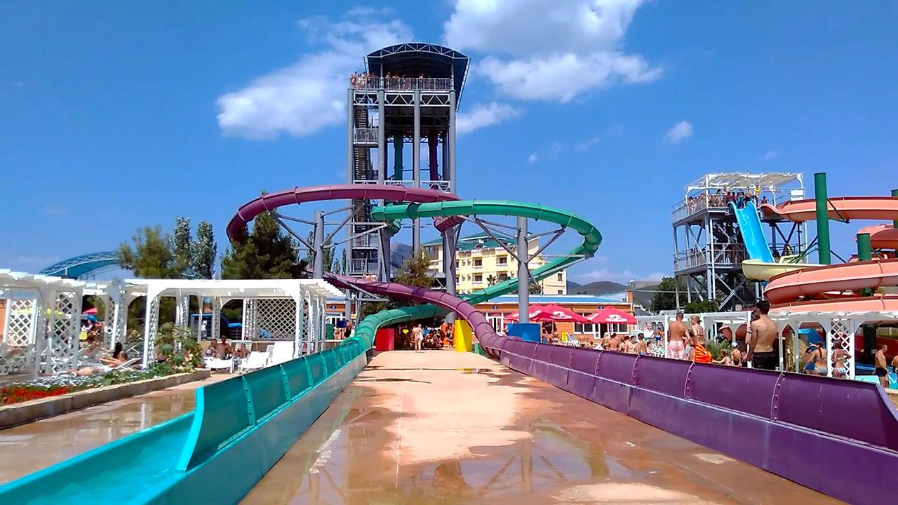 Судакский аква-парк