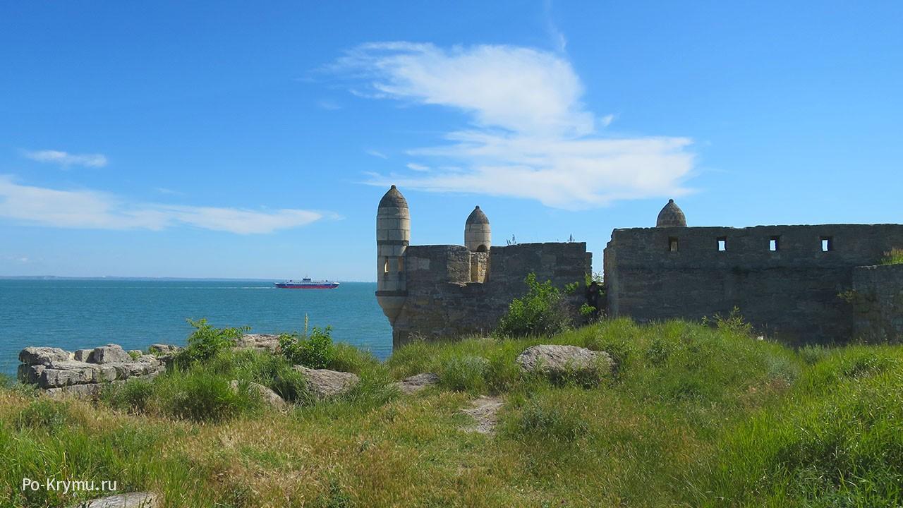 Крепость османов Ени-Кале