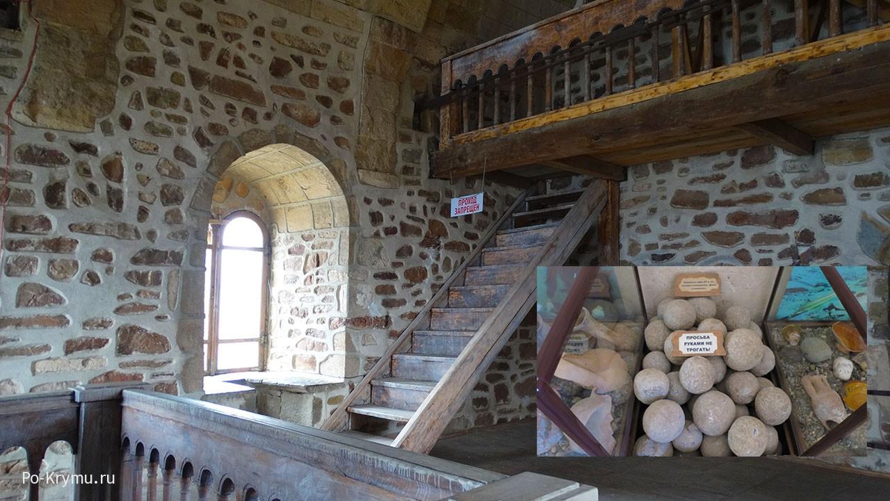 В крепостной башне