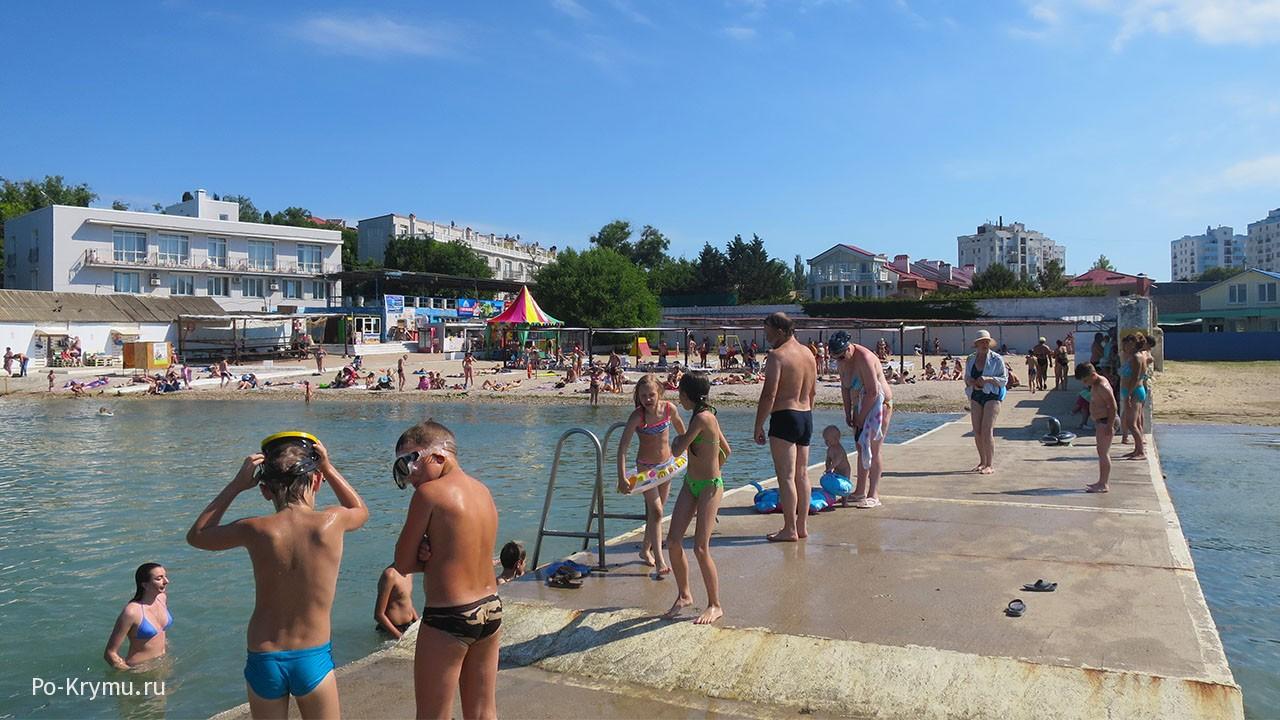 Пляж Песочный, Севастополь, отзывы туристов