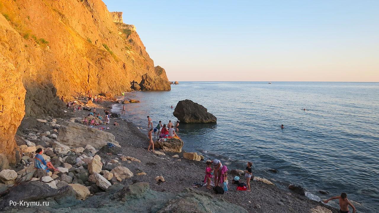 Пляжи Севастополя.