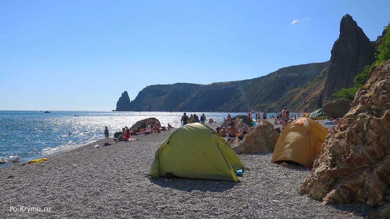 палатки-на-берегу