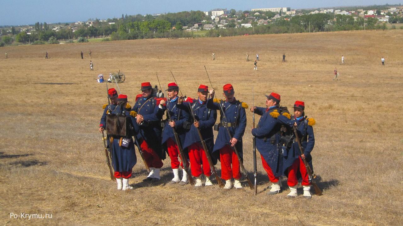 Место Альминского сражения.