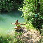 Летняя экскурсия по речке Черной у Севастополя