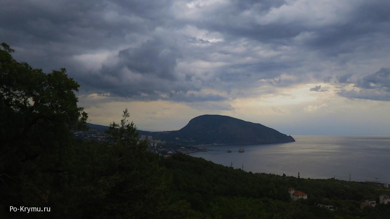 Чудо Крыма Аю-Даг - Медведь-гора.