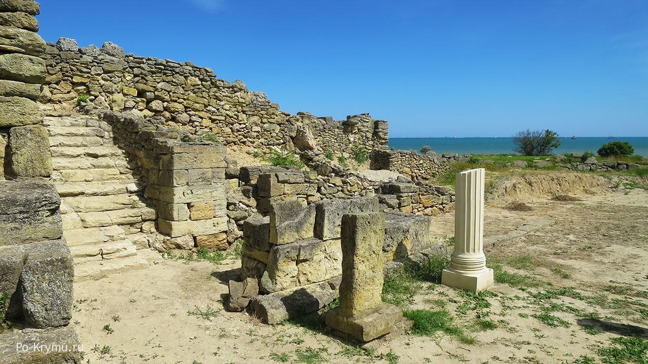 Античное городище Нимфей.