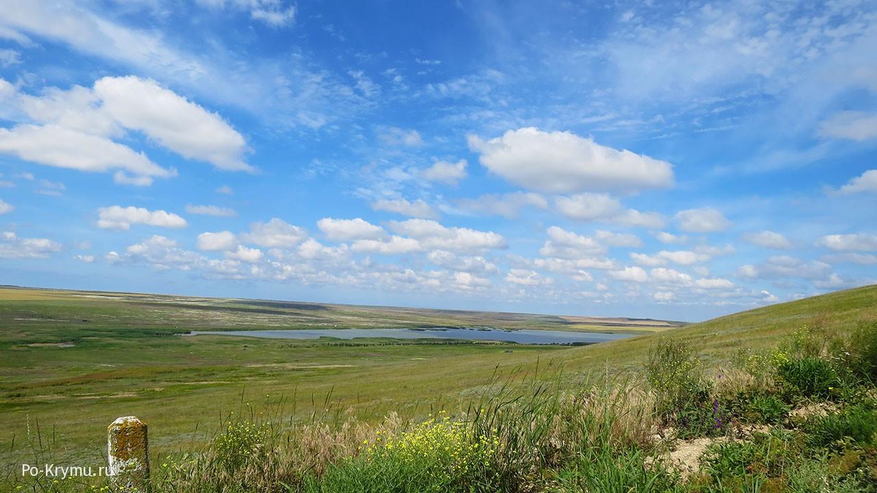 На Керченском полуострове у Вулкановки.