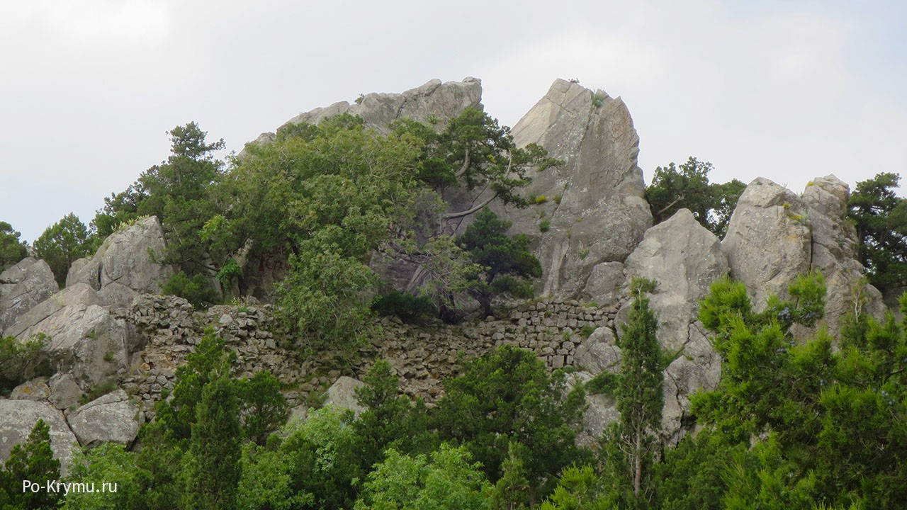 Крепость Лимен-Кале, гора Кошка, Симеиз.