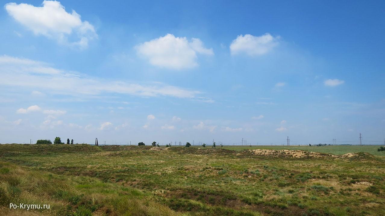 Что осталось от Перекопской земляной крепости.