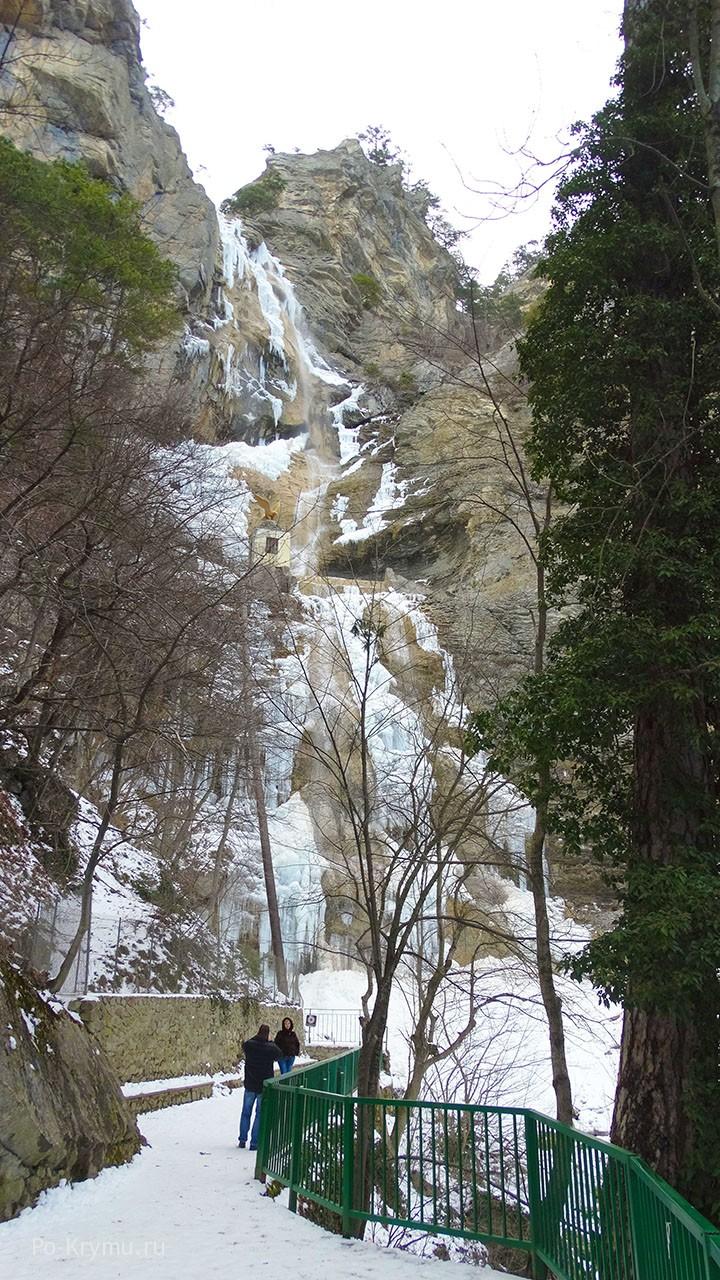 Фото водопада Учан-Су.