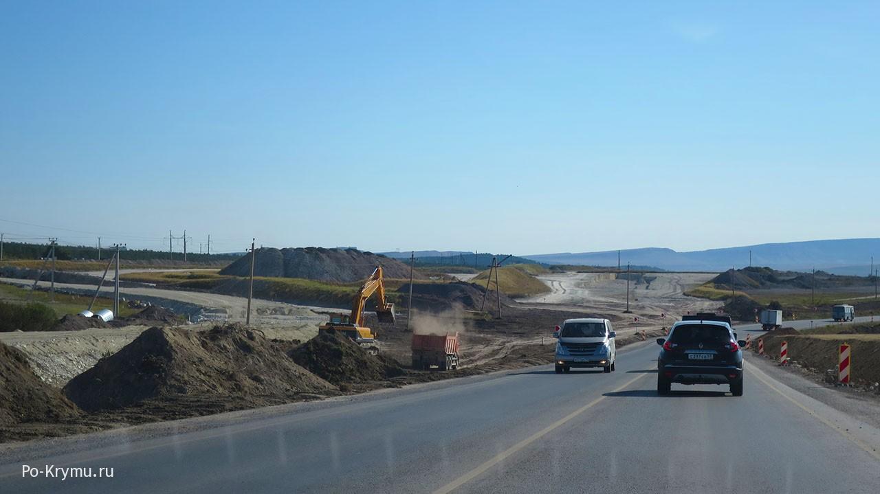 """Строительство трассы """"Таврида"""""""