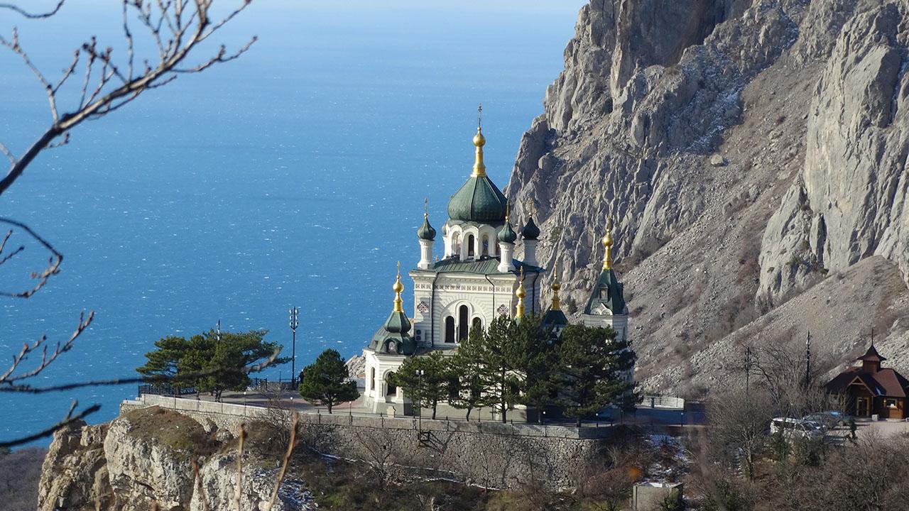 Новый год и Рождество в Крыму.