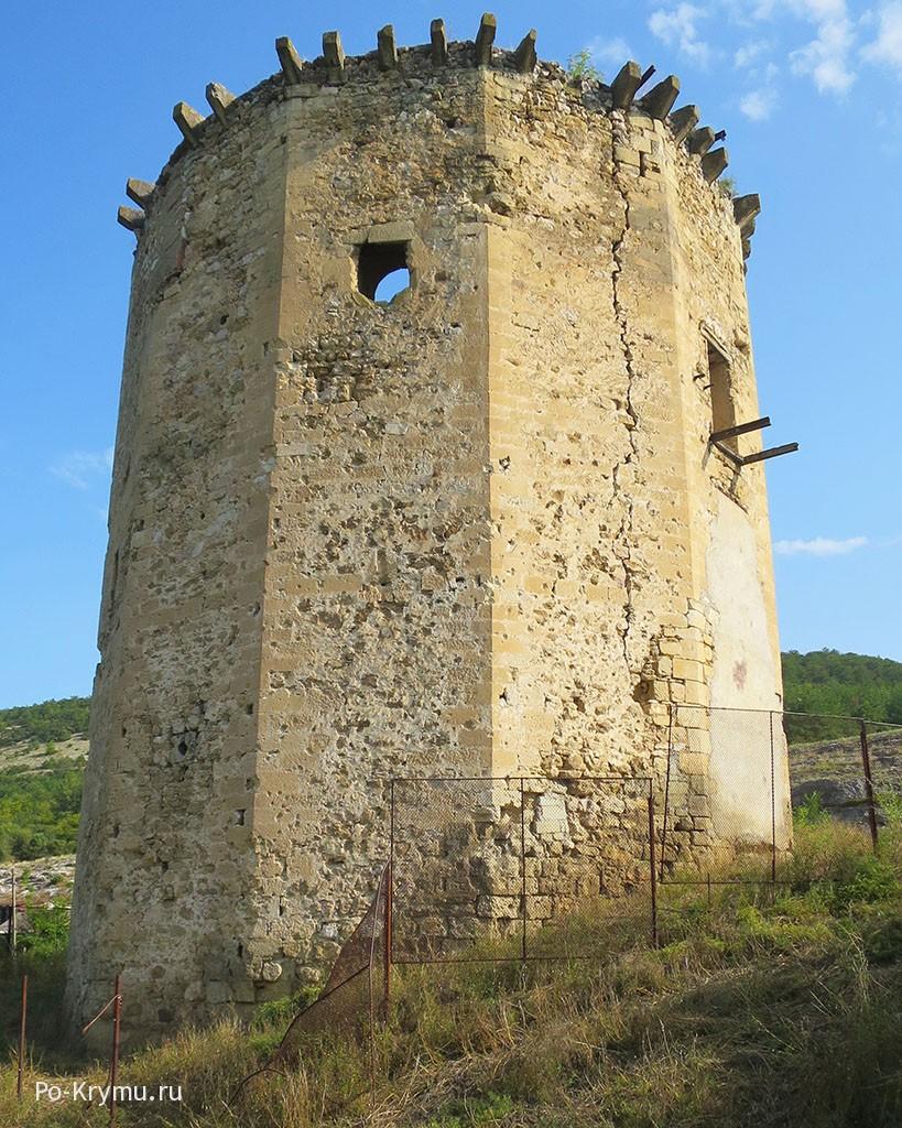 Чоргуньская башня у Черной речки.