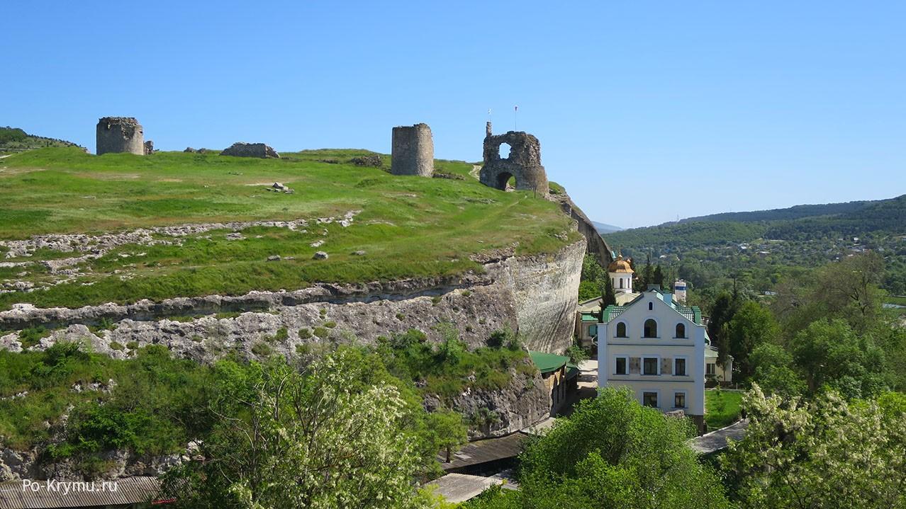 Вид на крепость Каламита в Инкермане.