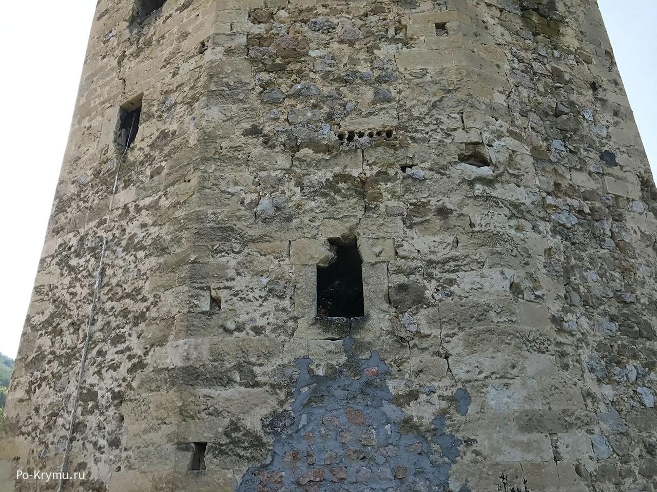 Турецкая крепость на Черной речке.