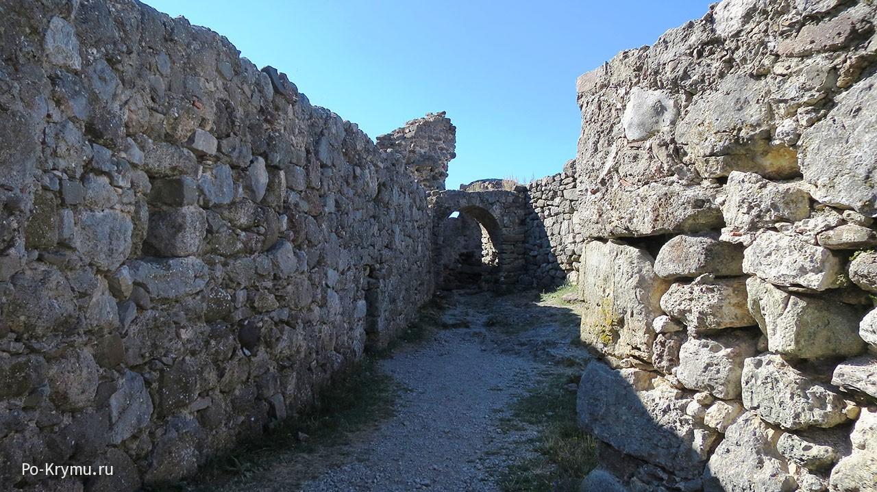 Крепость Фуна у Демерджи.