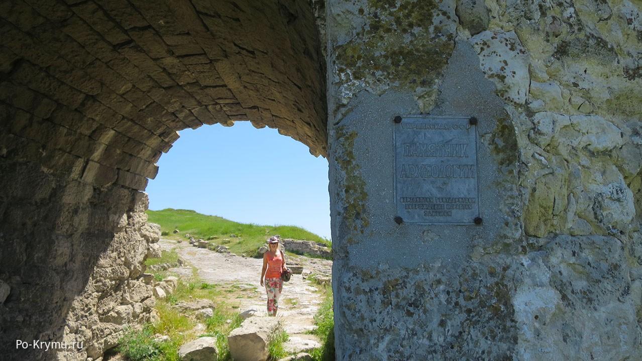 Средневековая крепость Каламита в Крыму.