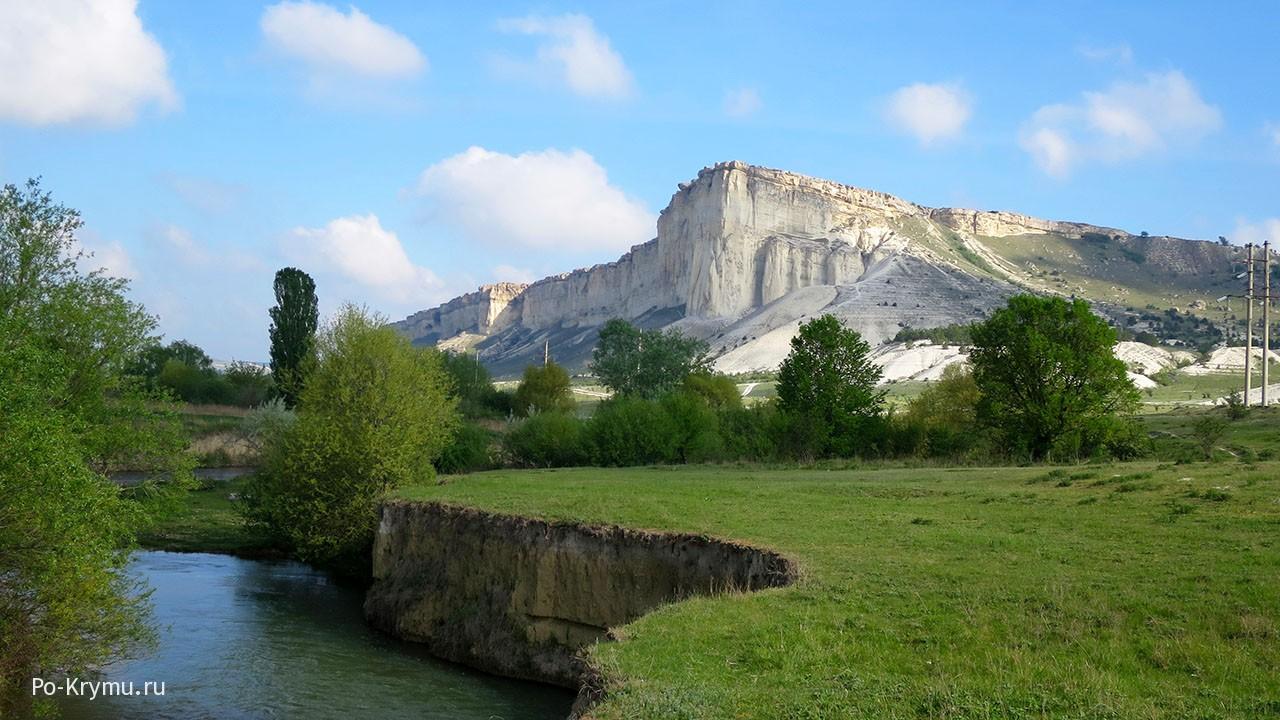 Река Биюк-Карасу и Ак-Кая.