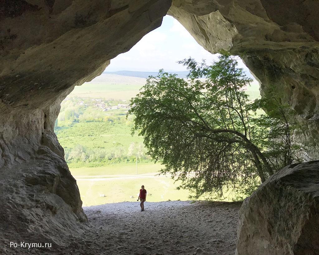 Сарматская пещера в Крыму.