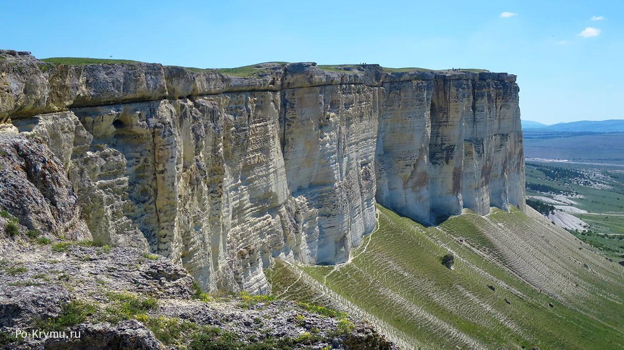 Белая скала, Крым как добраться от Симферополя.