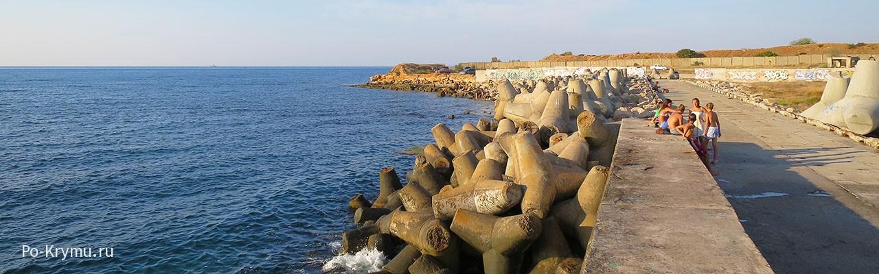 Где можно купаться в Камышовой бухте.