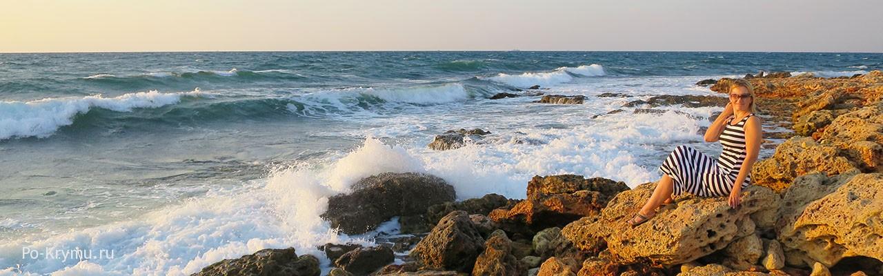 Скалистые берега мыса Херсонес - фото, описание, отзывы.