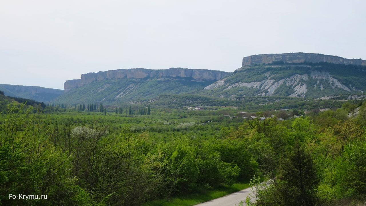 Заказник Качинский каньон - карта, фото.