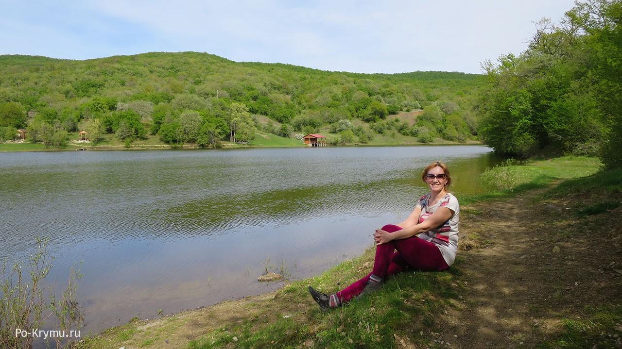 Синапное, озеро и места отдыха.