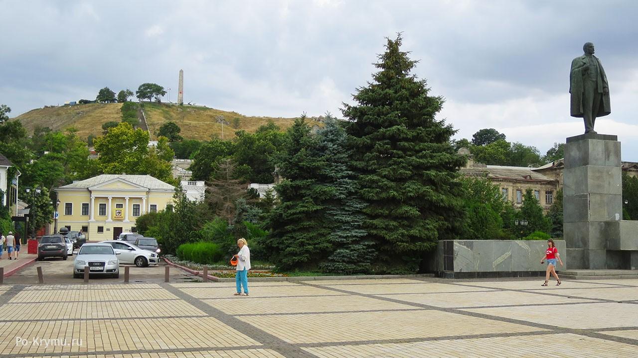 Центр города Керчь.