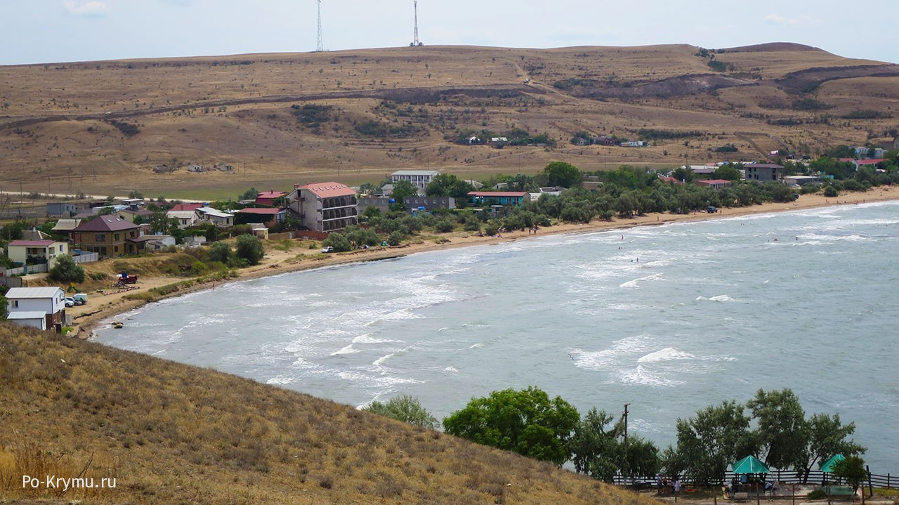 Вид на бухту Морской пехоты с мыса Зюк.