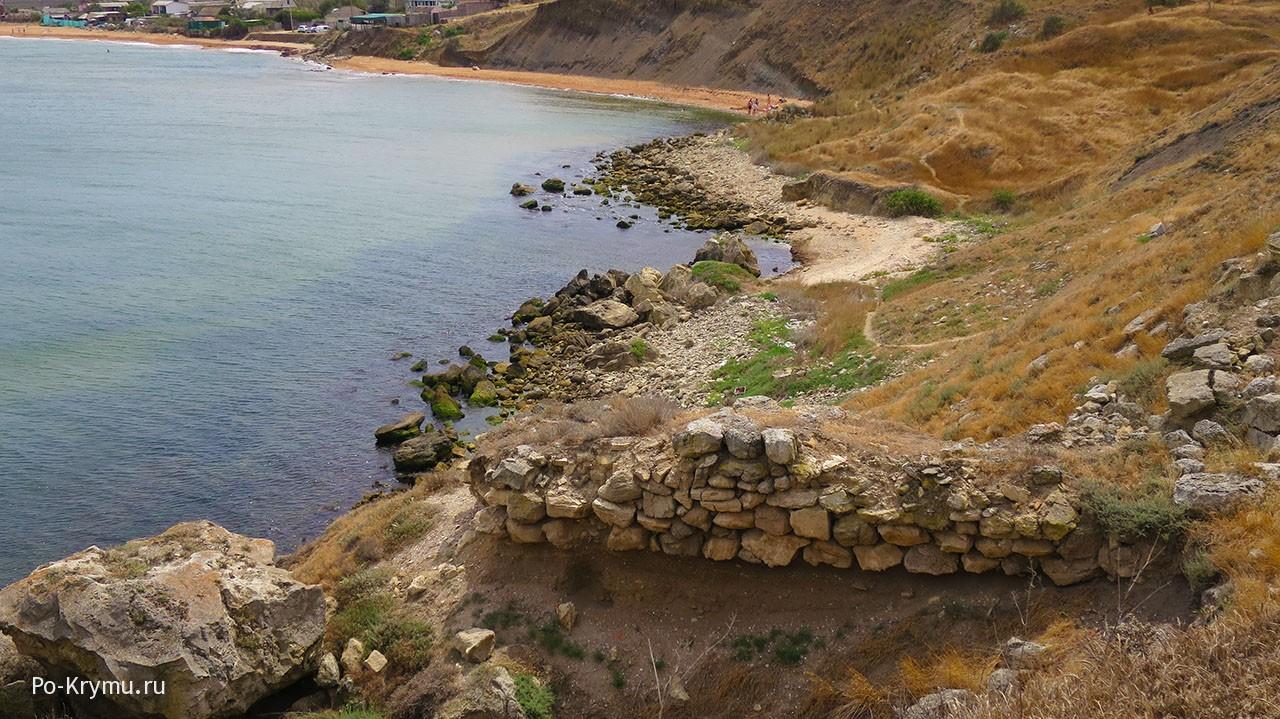 Античное городище у Курортного.