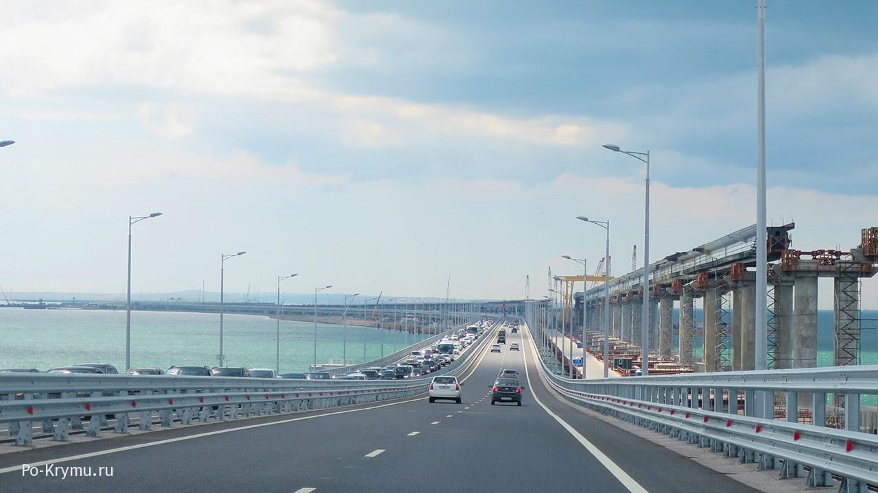 Крымский мост сегодня.