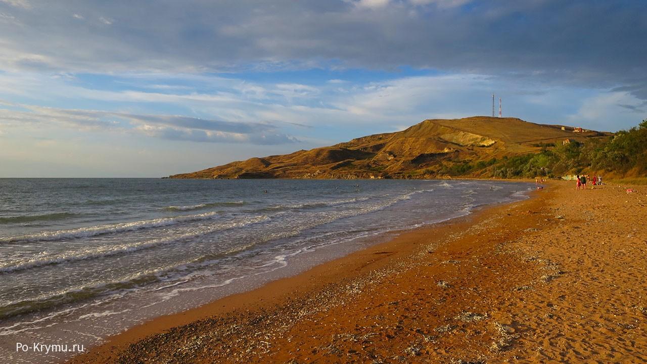 Юркино на берегу бухты Булганак.
