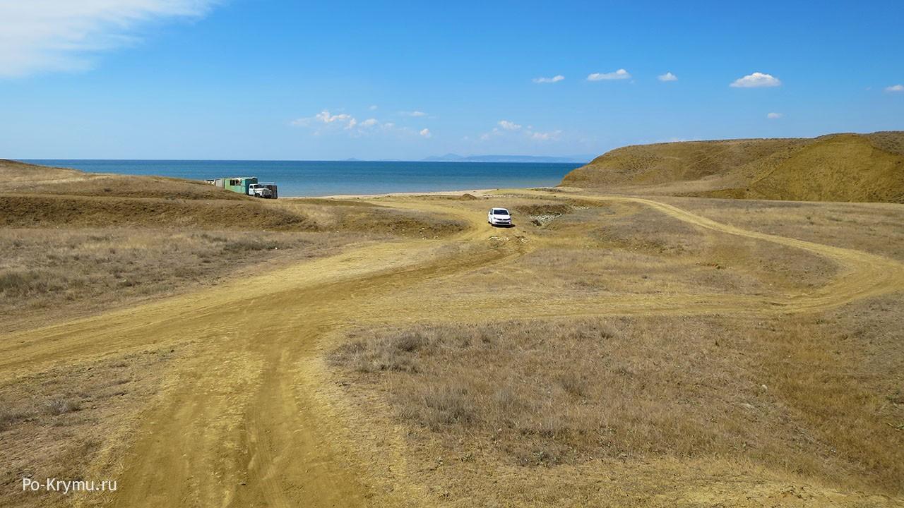 Дикие пляжи Феодосийского залива.