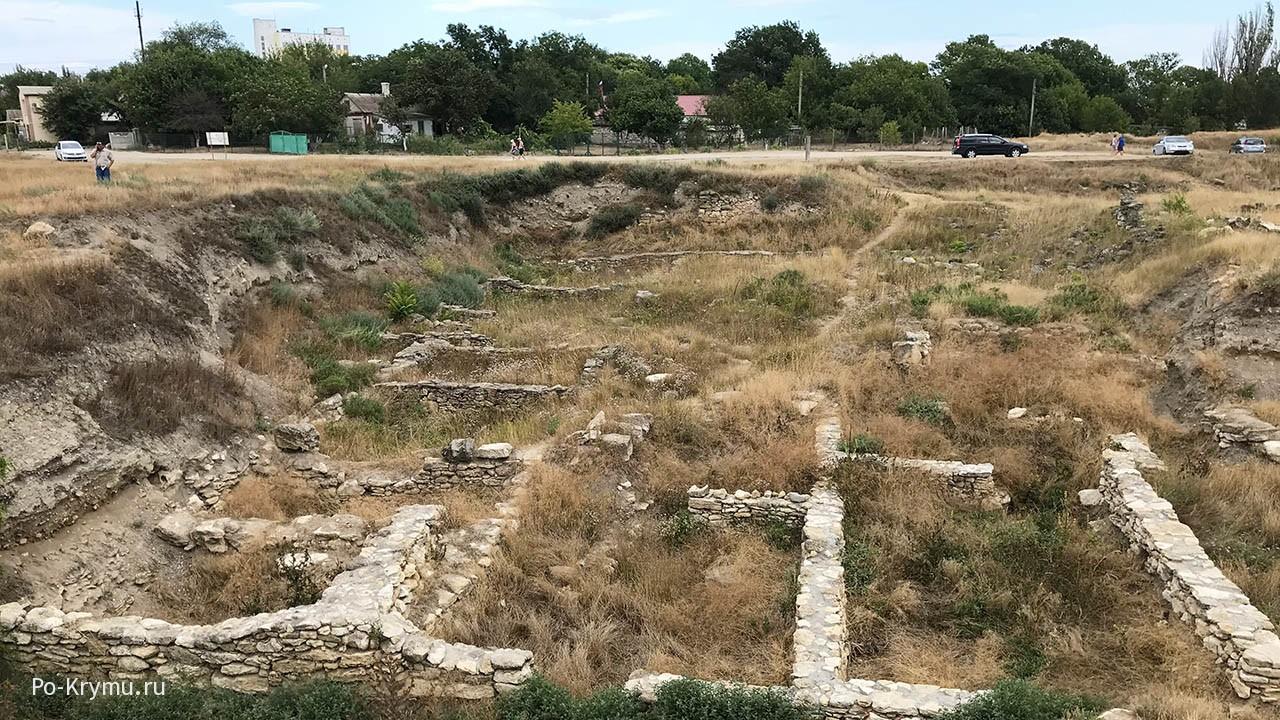 Руины Мирмекия, мыс Карантинный.