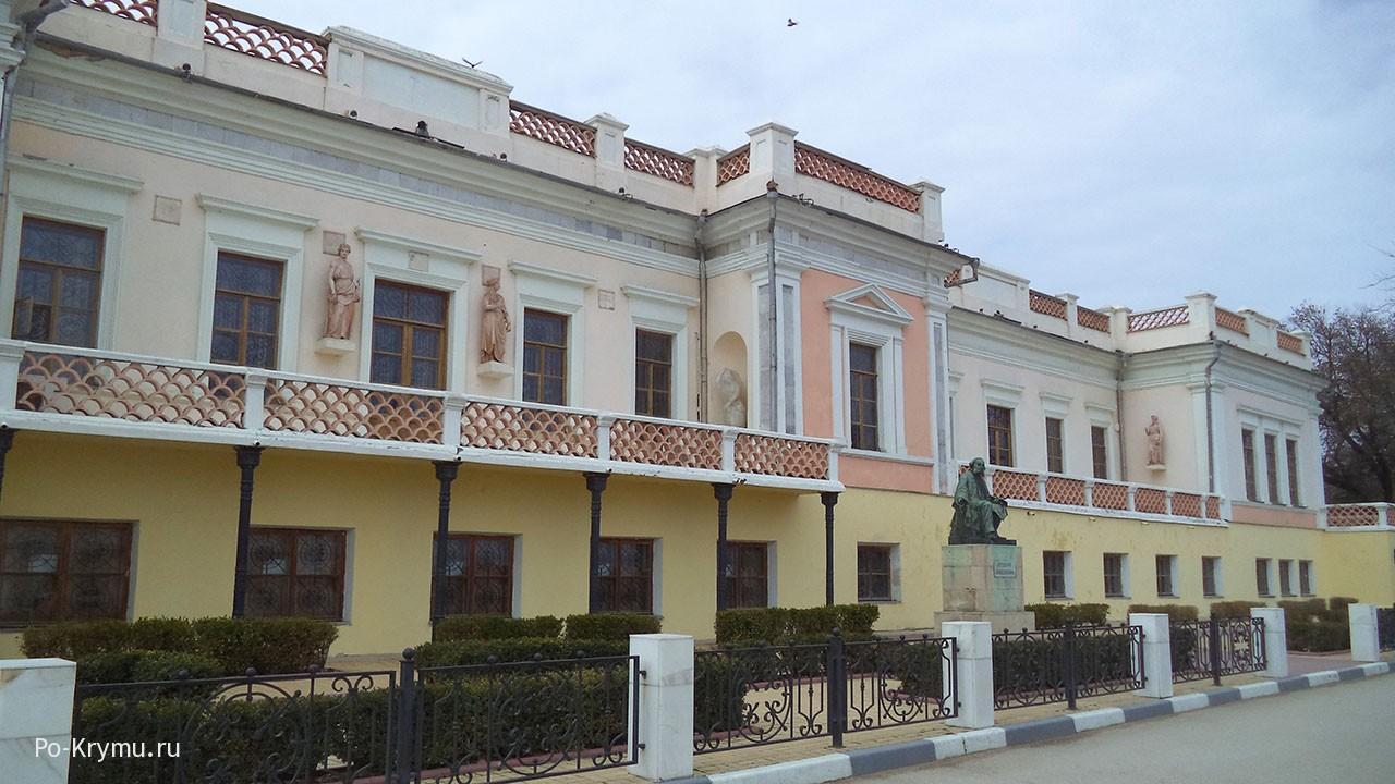 Картинная галерея Айвазовского в Феодосии.
