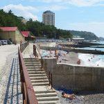 Пляж в Парковом, Большая Ялта