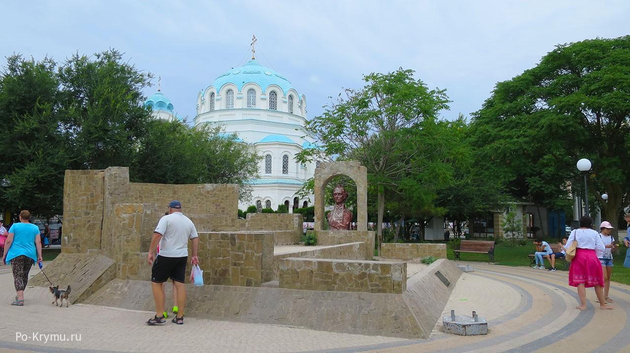 Суворовский редут и Собор Святого Николая.