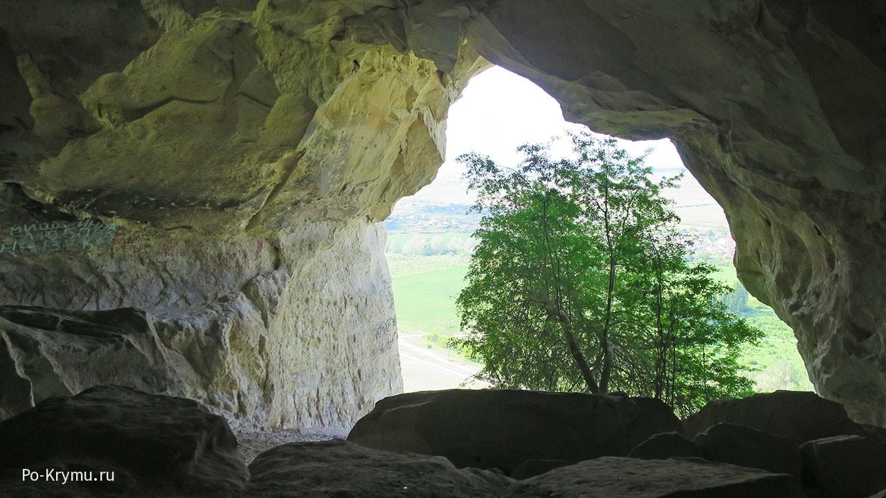 Белогорск, древние поселения на Белой скале.